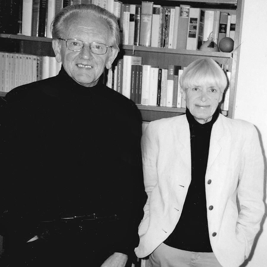 Das Stifterpaar Ruth Kassebrock (2010) und Wilfried Kassebrock (2012)