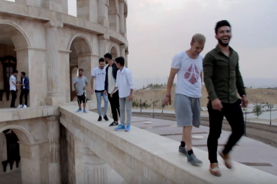 Parkour Creation e.V. : Creating the Us - Parkour Project Iraq 2019 gefördert von der Stiftung Dialoge & Begegnungen